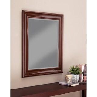 Sandberg Furniture Cherry 36 x 30-inch Wall Mirror