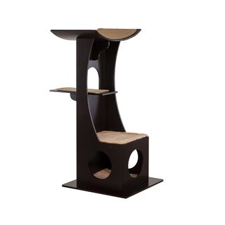 Jasper's Tree Box with Toy Rack - Dark Espresso