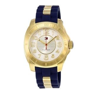 Tommy Hilfiger Women's 1781307 Blue Silicone Watch