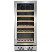 AKDY WC0033 30 Bottles Single Zone Compressor Freestanding Wine Cooler Refrigerator Chiller