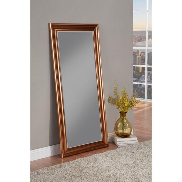 Shop Sandberg Furniture Copper Full Length Leaner Mirror