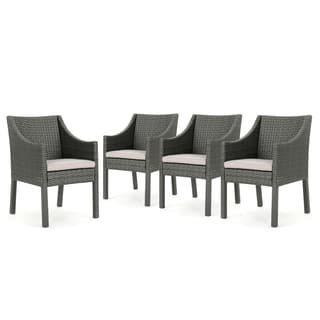 Miraculous Buy Wicker Patio Dining Chairs Online At Overstock Our Alphanode Cool Chair Designs And Ideas Alphanodeonline