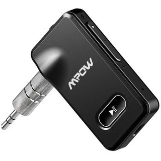 Mpow Bluetooth 4.1 Receiver, Portable Wireless Audio Adapter, 3.5mm Aux Stereo Output, Hands-free Calling Bluetooth Car Kit