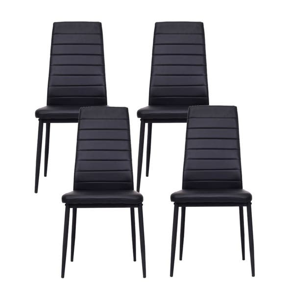 IDS Home Dining Chairs Set for 6 Dining Room Chairs with Cushion High Back  Support - 8\' x 10\'