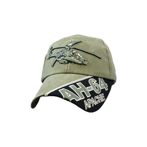 US AH-64 Apache Helicopter Green Cap