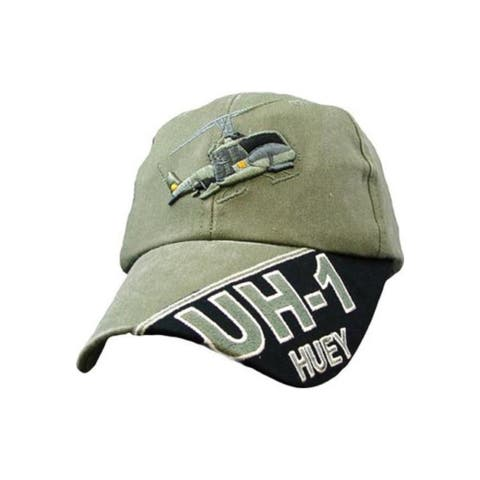 US UH-1 Huey Helicopter Green Cap