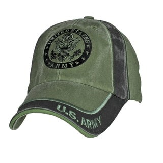 US Army Insignia Green Military Cap