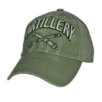 US Army Artillery Green Military Cap
