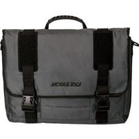 "Mobile Edge Carrying Case (Messenger) for 17.3"" Notebook - Graphite"