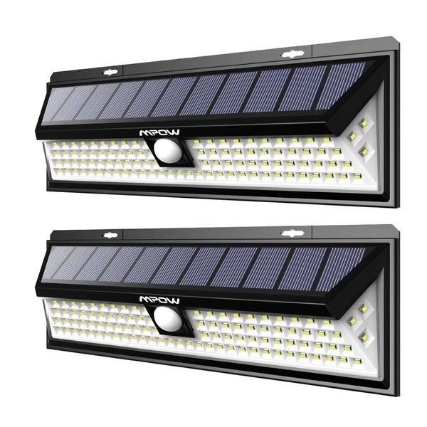 Driveway Solar Lights For Sale: Shop Mpow 102 LED Motion Sensor Solar Light Large Solar