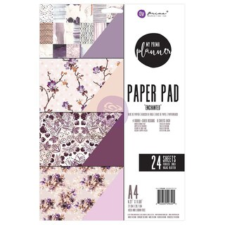 My Prima Planner Double-Sided A4 Paper Pad 24/Pkg