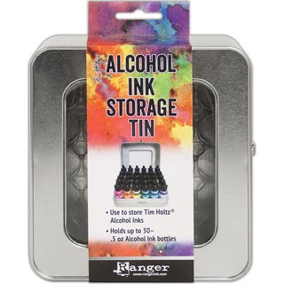 Tim Holtz Alcohol Ink Storage Tin