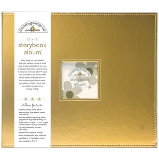 "Doodlebug Storybook Metallic Album 12""X12"""