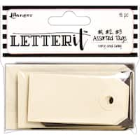 Ranger Letter It Tag Assortment 18/Pkg