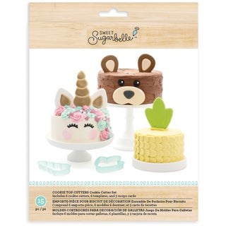 Sweet Sugarbelle Cake Top Cutters 15pcs