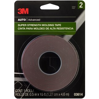 "3M Super Strength Molding Tape .5""X15'"