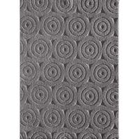 Central Weldon Hadlan Titanium Grey Area Rug - 7'6 x 9'6