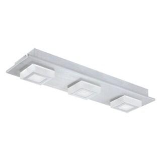 Eglo Masiano LED Ceiling Light with Brushed Aluminum Finish