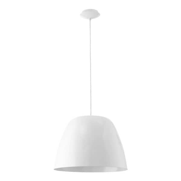 Eglo Coretto Pendant with Glossy White Finish