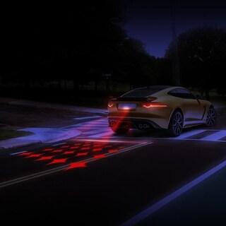 Laser Anti-Collision Rear Car Warning Lamp