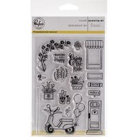"""Documented Clear Stamps 6""""X4"""""""