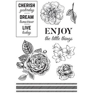 """Wandering Ivy Clear Stamps 6""""X4"""""""