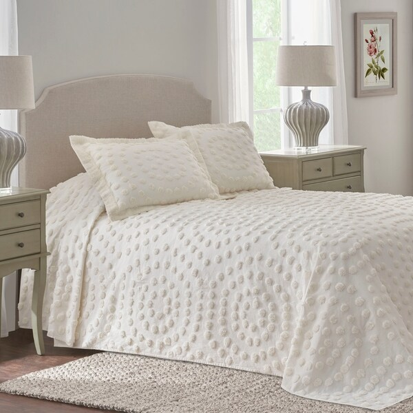 1a18a96bf9 Shop Nostalgia Home Eden Chenille Testured Bedspread - On Sale ...