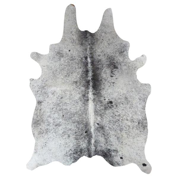 Salt and Pepper Natural Cowhide Rug