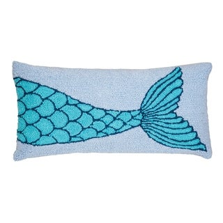 Mermaid Tail Hooked 12x24 Throw Pillow