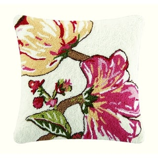Alessandra Hooked 18 Inch Throw Pillow