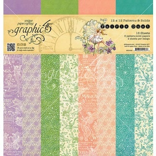 """Graphic 45 Double-Sided Paper Pad 12""""X12"""" 16/Pkg"""