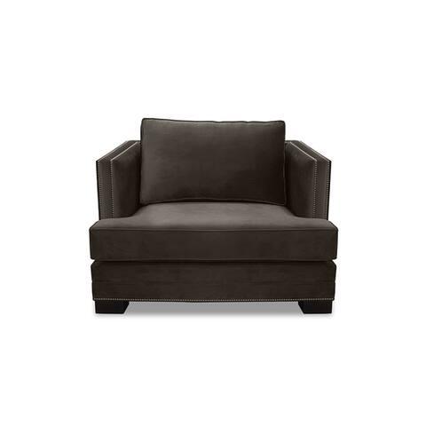 Moore Velvet Accent Chair