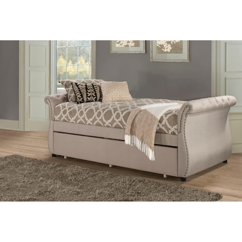 Hillsdale Hunter Backless Daybed with Trundle Unit
