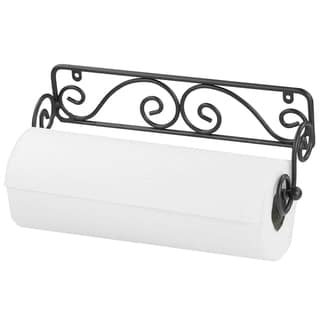Link to Home Basics Black Wall-mounted Paper Towel Holder Similar Items in Kitchen Storage