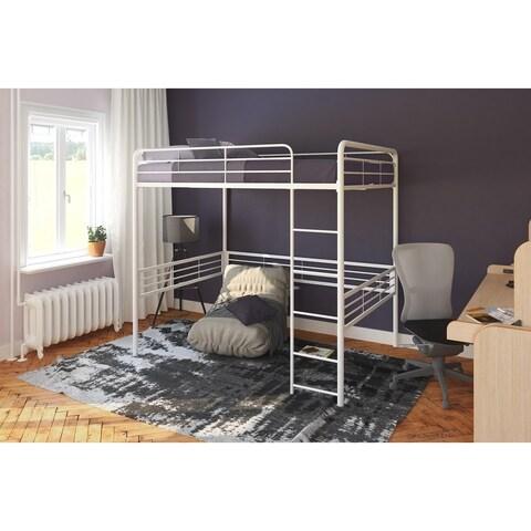 Avenue Greene White Full Loft bed
