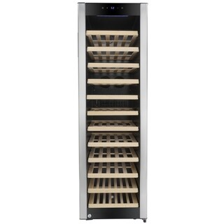 AKDY WC0042 58 Bottles Single Zone Adjustable Touch Control Compressor Electric Wine Cooler