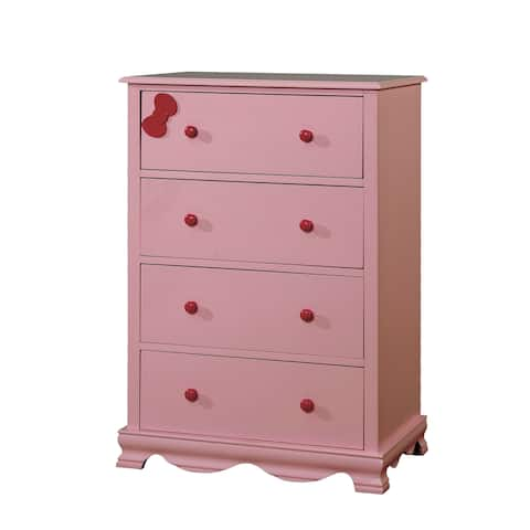 Matilda Transitional 4-drawer Youth Chest by FOA