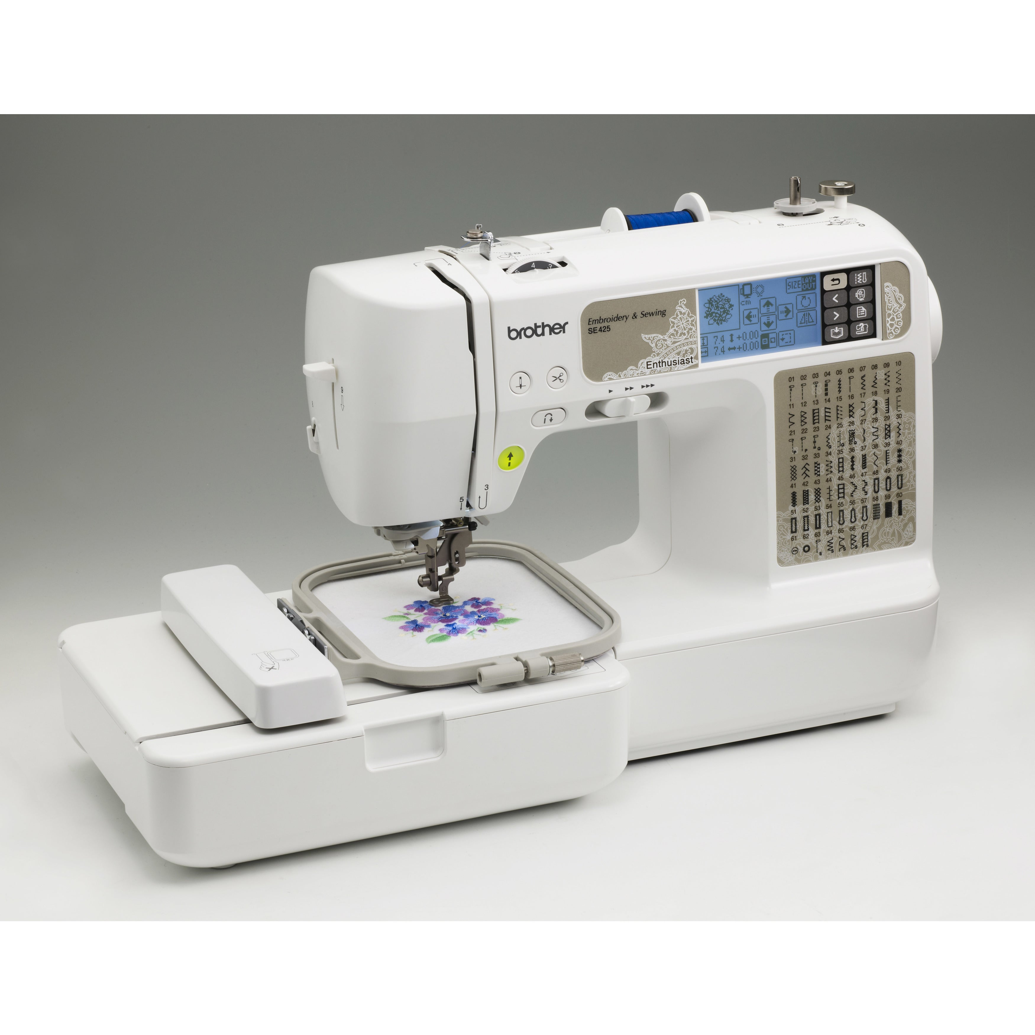 Brother se computerized sewing and embroidery machine