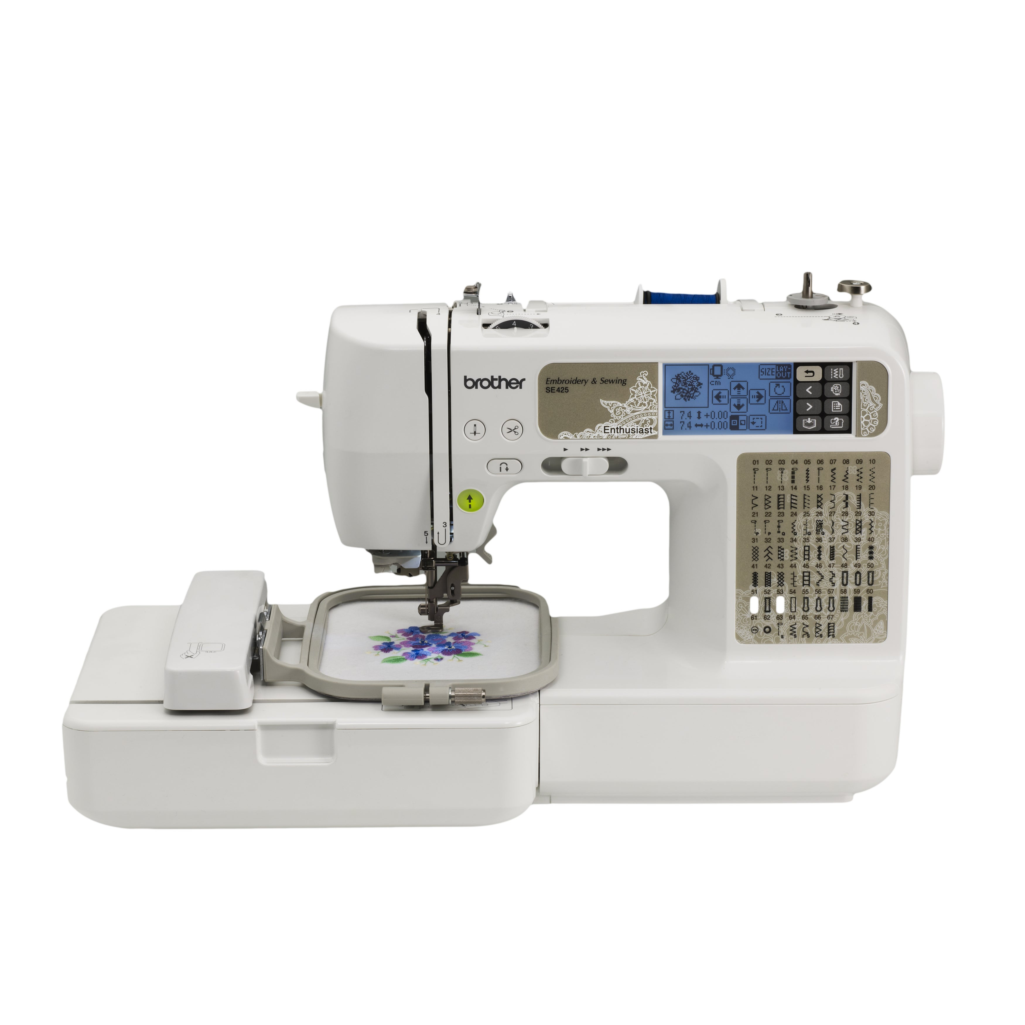 Brother SE425 Computerized Sewing and Embroidery Machine ...