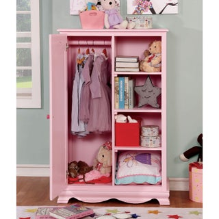 Furniture of America Matilda Transitional 1-door Youth Closet