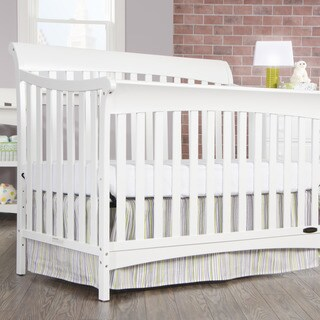 Ashton 4-in-1 Convertible Crib - Matte White