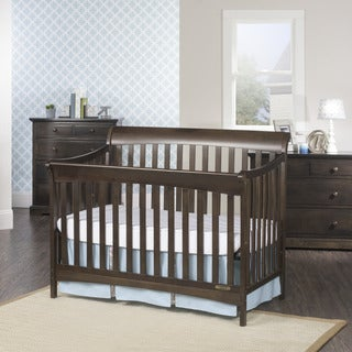 Ashton 4-in-1 Convertible Crib - Slate