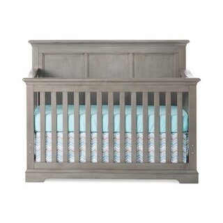 Kelsey 4-in-1 Convertible Crib - Dapper Gray