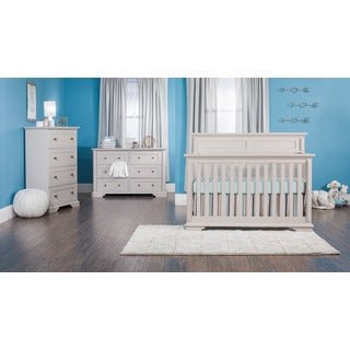 Tanner 4-in-1 Convertible Crib - Cobblestone