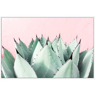 Marmont Hill - Handmade Sweet Succulents Floater Framed Print on Canvas
