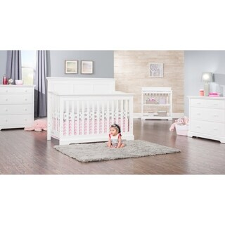 Kelsey 4-in-1 Convertible Crib - Matte White