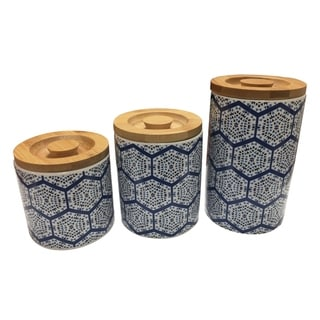 Link to Le Chef Ceramic Storage Canisters set of 3 Similar Items in Kitchen Storage