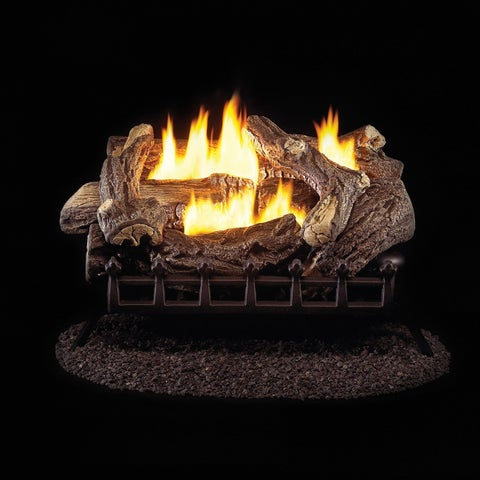 ProCom Ventless Natural Gas Log Set - 24in., 34,000 BTU, Millivolt Control, Model# WZN24MVA