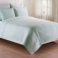 Basketweave Spa Quilt Set