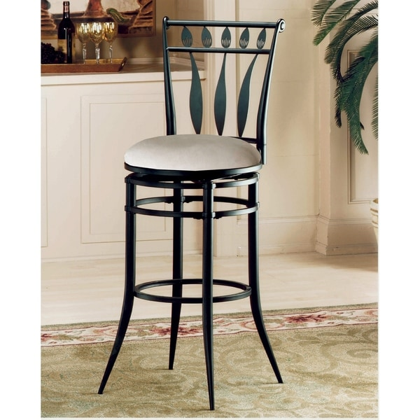 Hilale Hudson Swivel Counter Stool
